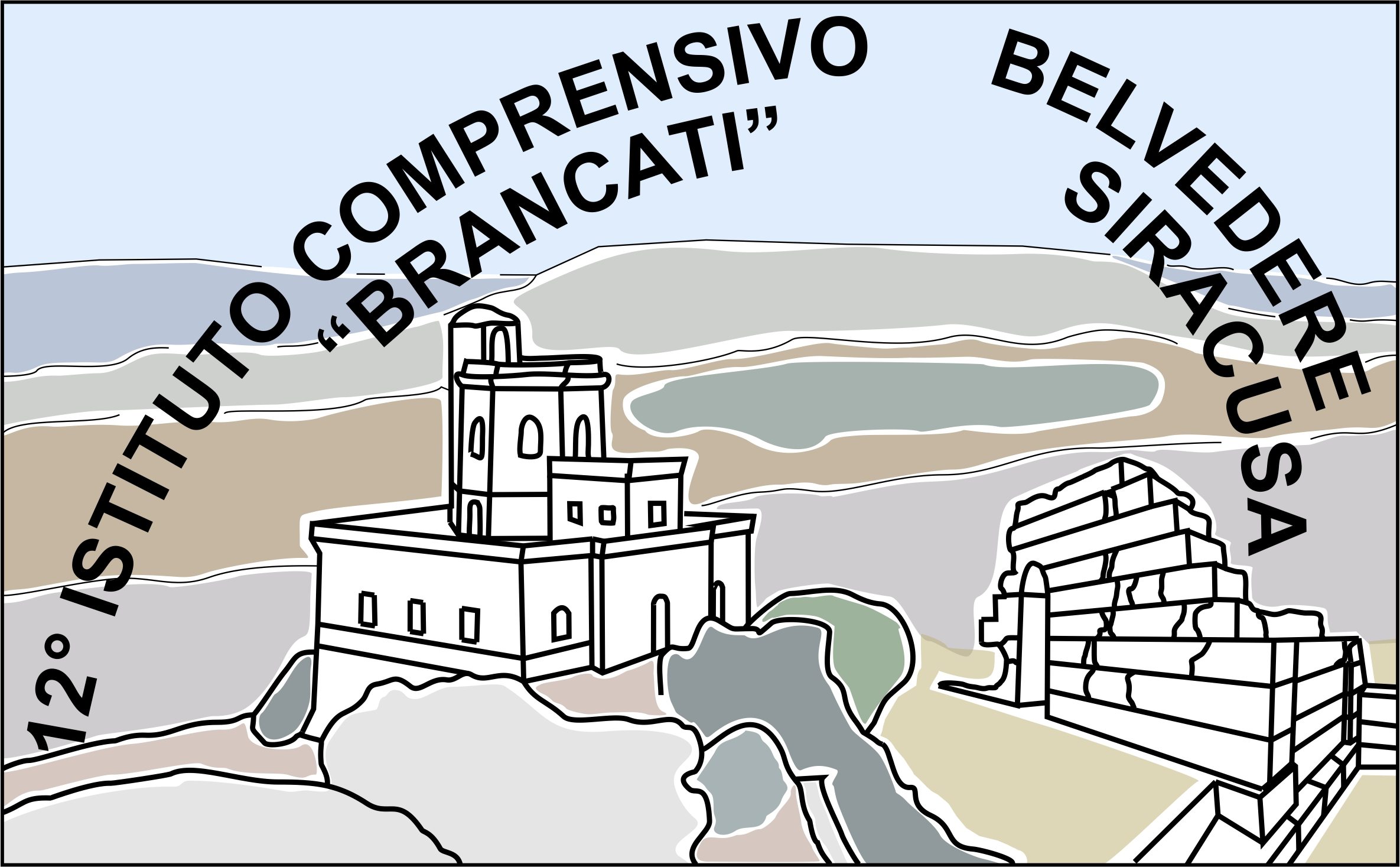 XII Istituto Comprensivo di Siracusa logo